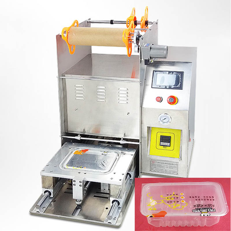 food container sealing machine