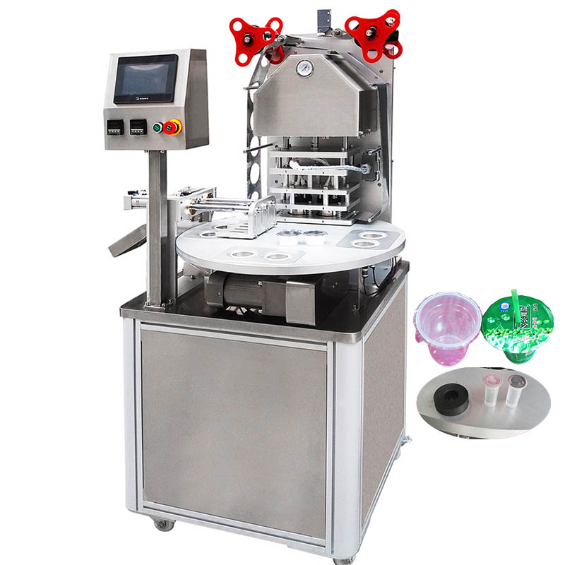 rotary cup sealing machine