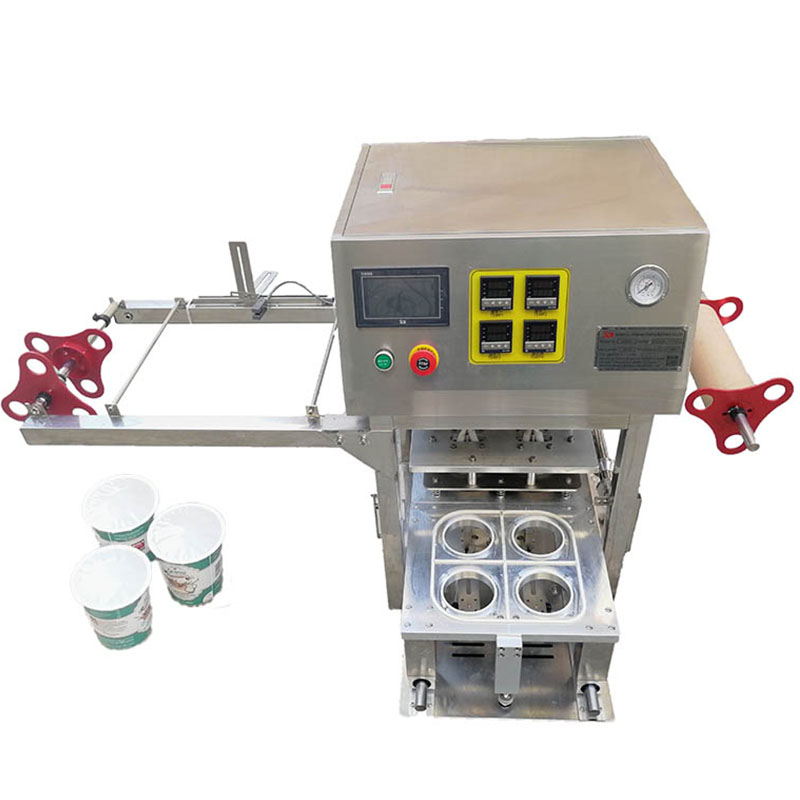 paper cup sealing foil machine