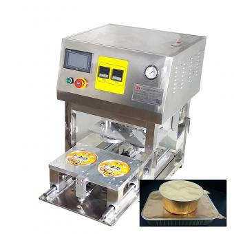 aluminium container sealing machine