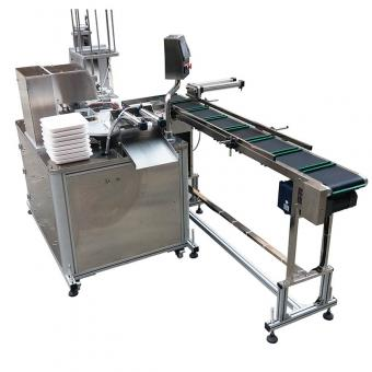 rotary paper tray sealing machine